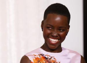For example: Did someone tone up Lupita's teeth to be a tad whiter?